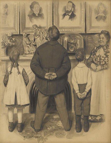 88169: FREDERICK STROTHMANN (American 1879 - 1958) Admi