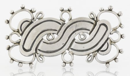 71012: A MEXICAN SILVER BROOCH William Spratling, Taxco