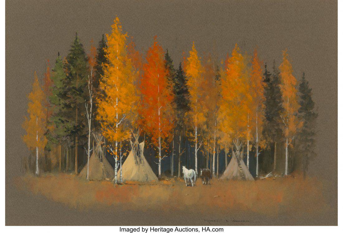 Robert B. Wagoner (American, b. 1928) Autumn Cam