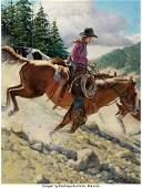 31115 Roy Lee Ward American 20th Century Wild Horse