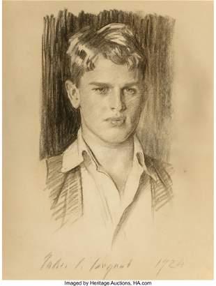 68094: John Singer Sargent (American, 1856-1925) Portra