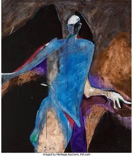 68025: Fritz Scholder (American, 1937-2005) Possession