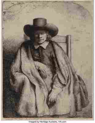 69072: Rembrandt van Rijn (Dutch, 1606-1669) Clement de