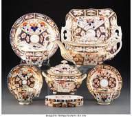 63271 A ThirtyOnePiece Derby Porcelain Assembled Tea