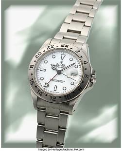 Rolex, Explorer II Ref. 16570, White Tritium Dia
