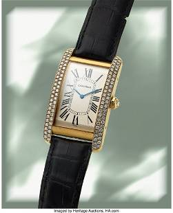 Cartier, Large Size Tank Americaine Automatic, 1