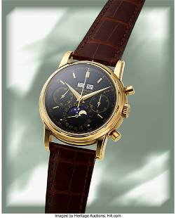54103: Patek Philippe, Extremely Rare and Fine Ref. 249
