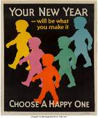 27058: American School (20th Century) Group of Four adv