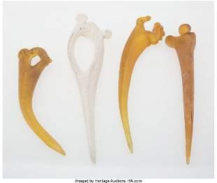 67157: William Morris (American, b. 1957) Bones (four w