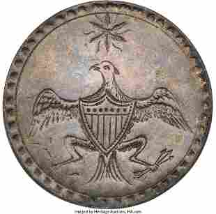 "43018: George Washington: ""Eagle with Star"" Inaugural B"