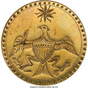 "43025: George Washington: ""Eagle with Star"" Inaugural B"