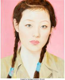 27001: Qi Zhilong (Chinese, b. 1962) Female Student, 20