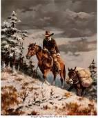 47058: Gary Lynn Roberts (American, b. 1953) Snow Packi