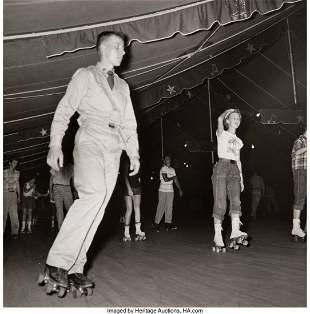 38001: Berenice Abbott (American, 1898-1991) Rollerskat