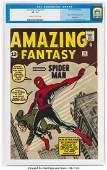 91025: Amazing Fantasy #15 (Marvel, 1962) CGC VF- 7.5 O