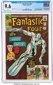 Fantastic Four #50 (Marvel, 1966) CGC NM+ 9.6 Wh