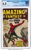 92087: Amazing Fantasy #15 (Marvel, 1962) CGC FN 6.0 Of