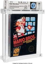 93028: Super Mario Bros. - Wata 9.6 A+ Sealed [Hangtab,