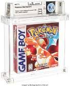 93055: Pokémon Red Version - Wata 9.4 A++ Sealed