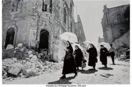 73055: Leonard Freed (American, 1929-2006) Nuns in Jeru
