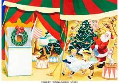 98106: Woolworth's New Christmas Book Santa Claus Wrapa