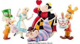 98132: Disney Store Alice in Wonderland Prop Display Fi