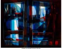 28057: Marcel Mouly (French, 1918-2008) Vue du Port par