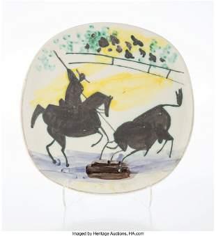 65057: Pablo Picasso (1881-1973) Picador et Taureau, 19
