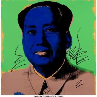 65075: Andy Warhol (1928-1987) Mao, 1972 Screenprint in