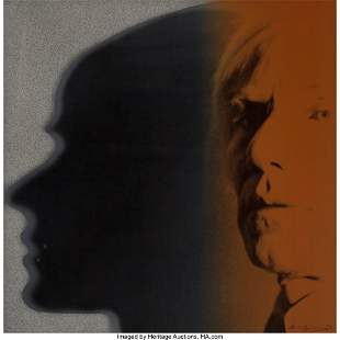 65076: Andy Warhol (1928-1987) The Shadow, from Myths,