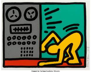 65026: Keith Haring (1958-1990) Untitled, from Pop Shop
