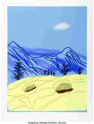65033: David Hockney (b. 1937) Untitled No. 24, from Th