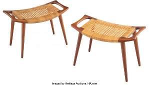 67002: Hans J. Wegner (Danish, 1914-2007) Pair of JH 53