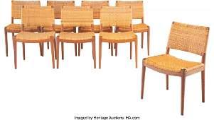 67007: Hans J. Wegner (Danish, 1914-2007) Set of Eight