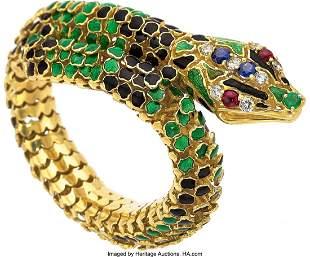 55149: Ruby, Sapphire, Emerald, Diamond, Enamel, Gold B
