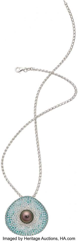 55172: Colored Diamond, Diamond, South Sea Cultured Pea
