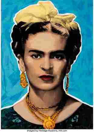 41030: Richard Duardo (1952-2014) Untitled (Frida Kahlo
