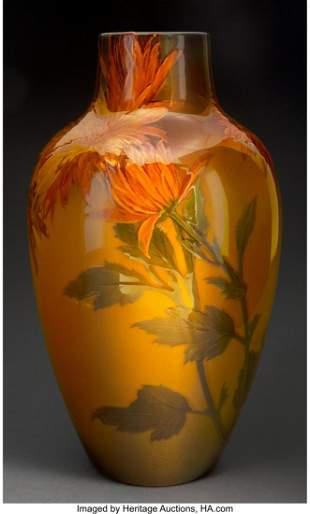79068: Rookwood Pottery Standard Glaze Chrysanthemum Va