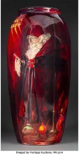 79072: Large Royal Doulton Sung Flambé Alchemist