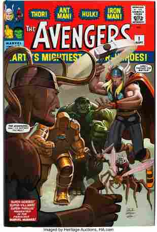 89002: The Avengers Omnibus Vol. 1 Hardcover Signed By