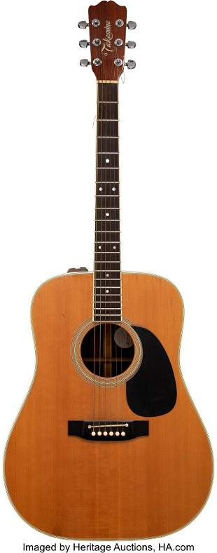 89106: Trini Lopez Personally Owned and Played Takamine