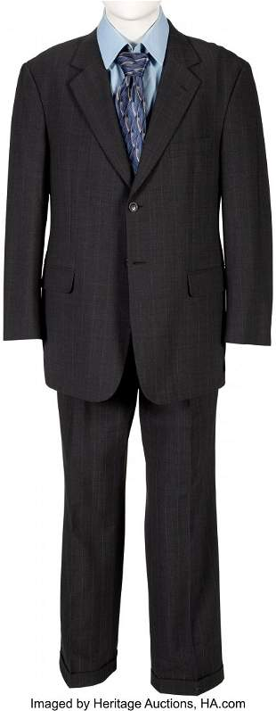 89013: Steve Carell Screen Worn The Office Business Sui