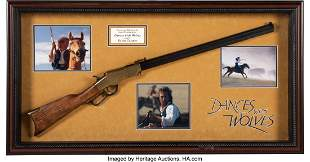 89018: Dances With Wolves Kevin Costner Screen Used Rif