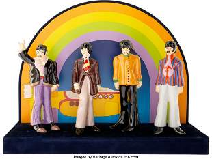 89309: The Beatles Yellow Submarine Set of Four Fab Fig