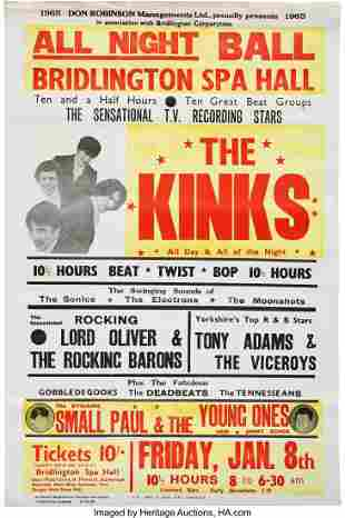 """89240: The Kinks 1965 """"All Day and All of the Night"""" Br"""