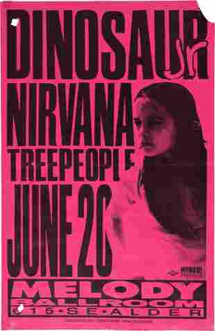 89250: Nirvana / Dinosaur Jr. / Treepeople 1991 Melody