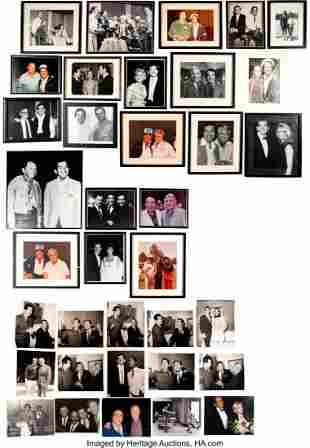 89156: Trini Lopez Pictures With Various People Includi