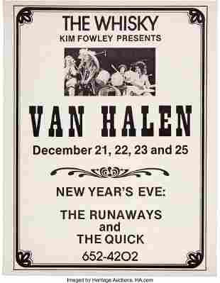 89266: Van Halen 1977 Whisky-a-Go-Go Los Angeles Concer