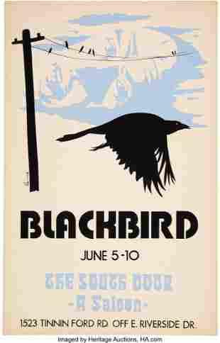 89268: Stevie Ray Vaughan / Blackbird 1971 Austin, Texa
