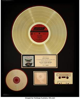 89387: The Rolling Stones Let It Bleed RIAA Hologram R
